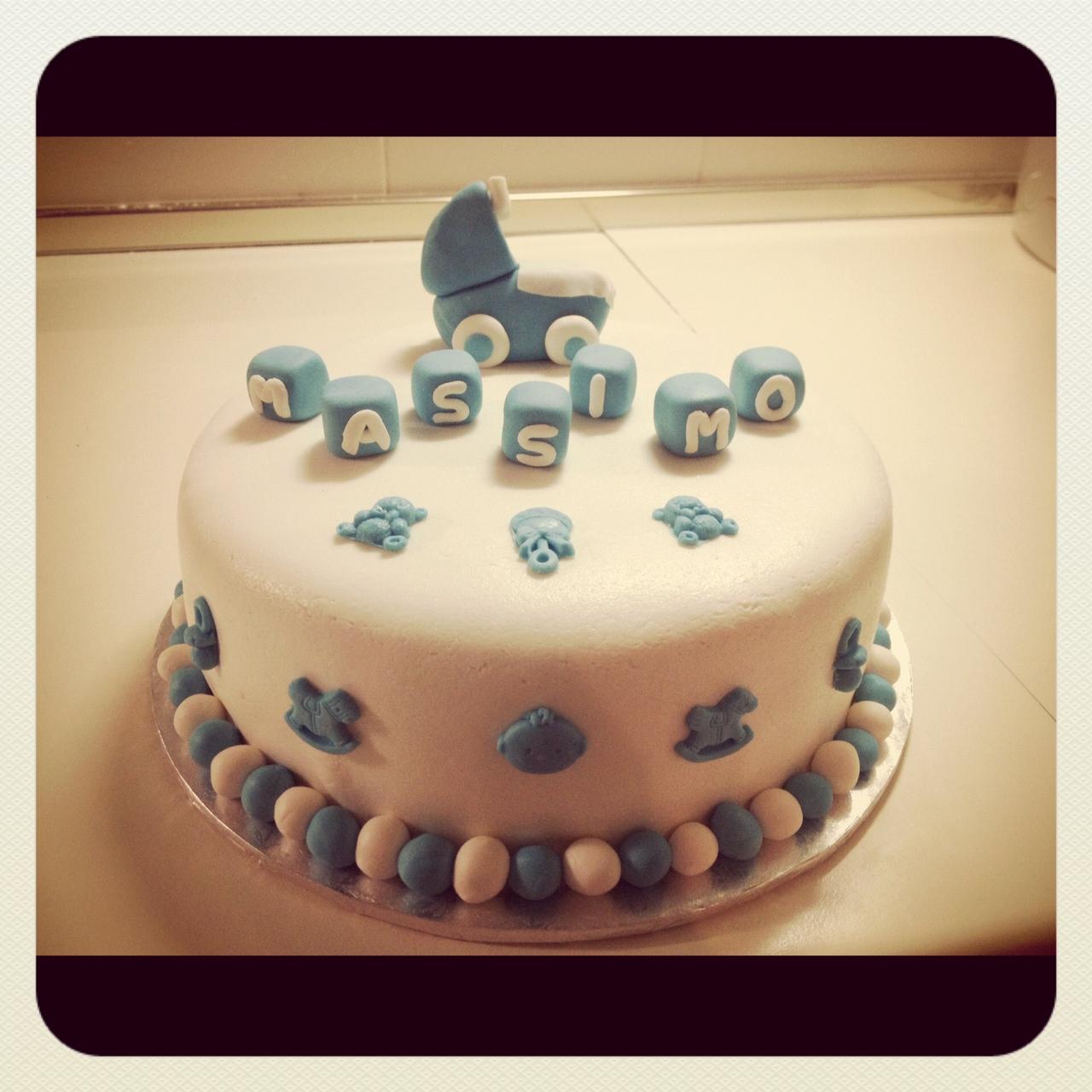 Prove di Cake-design: la torta battesimo ...