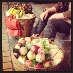 street fruit Guangzhou