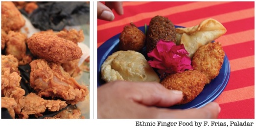 Etnic finger food francisca frias