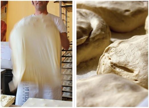 Focaccia di recco pasta