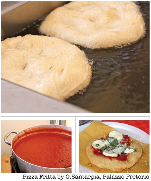 Pizza fritta g.santarpia