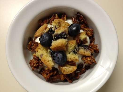 granola con yogurt e mirtilli (1)