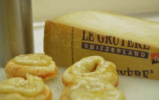 Donuts formaggi svizzeri