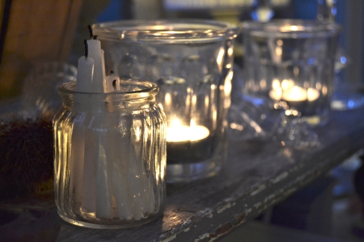 bicchieri luci di natale