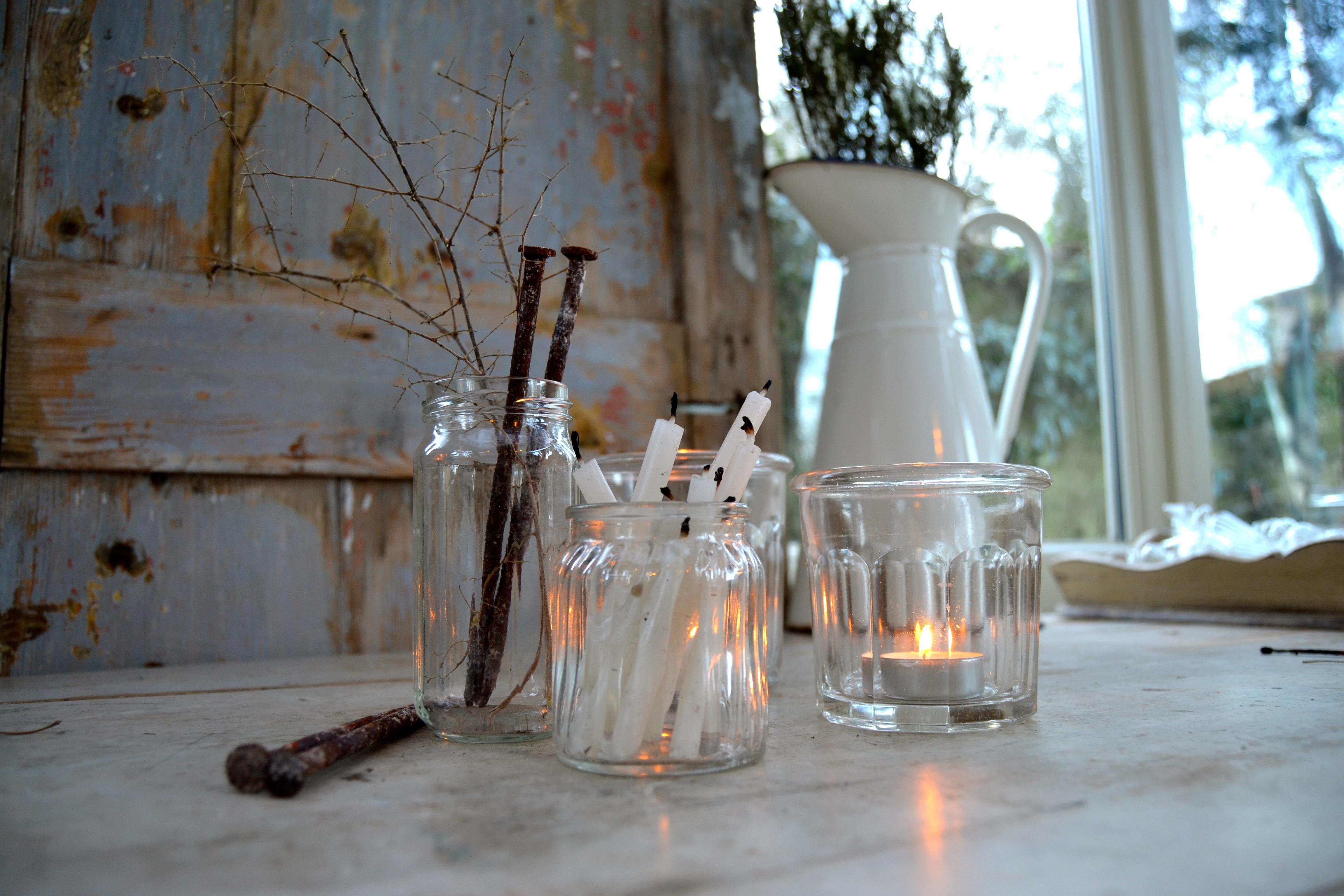 Centrotavola con luci forchettinagiramondo - Centro tavola con candele ...