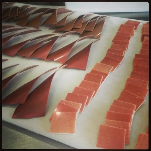 Decorazioni cioccolato Boscolo Etoile