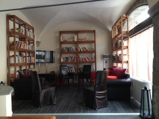 Sala lettura Boscolo Etoile