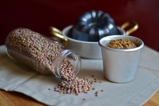 Flan di lenticchie speziato