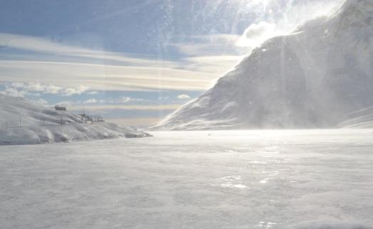 Ospizio Bernina panorama