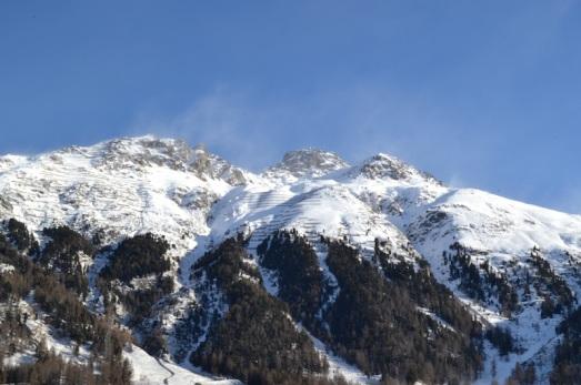 Pontresina montagne panorama