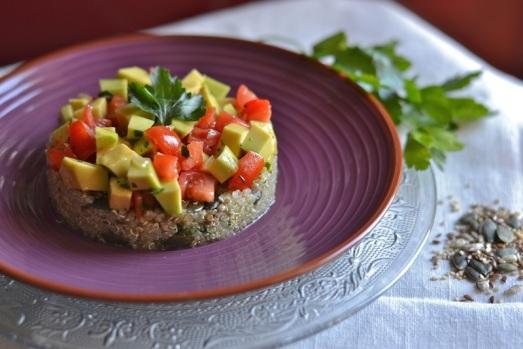 Guacamole quinoa