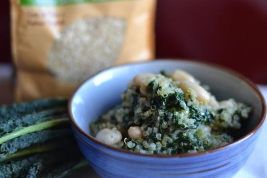 Quinoa con cavolo Nero