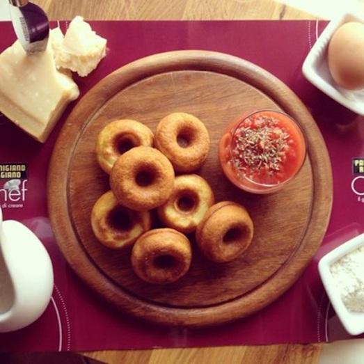 Donuta Parmigiano Reggiano #PRChef2015 #4chef