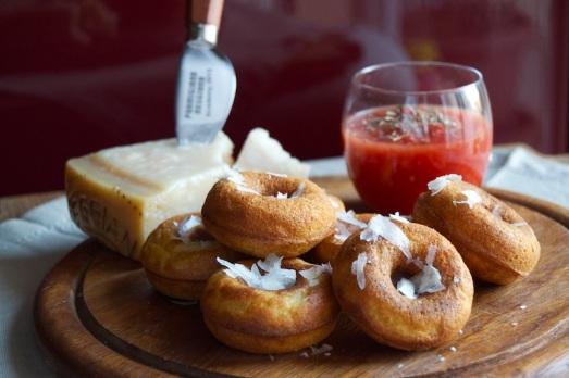 Donuts Parmigiano