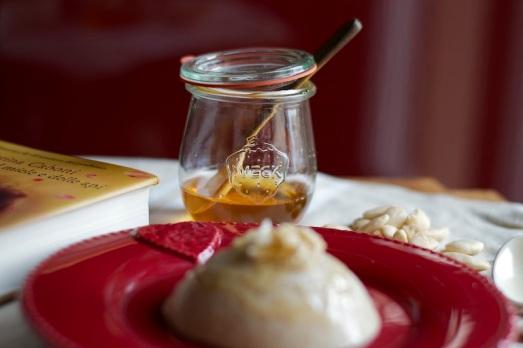Budino di quinoa latte e miele