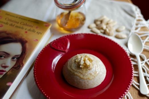 Budino quinoa latte e miele