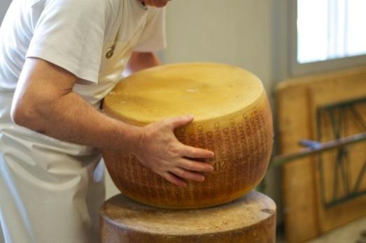 Aprire forma Parmigiano