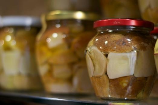 Funghi di Borgotaro sott'olio