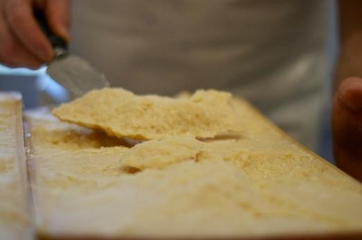 Parmigiano appena aperto